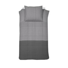 Damai dekbedovertrek  Score katoen  grey Lits-Jumeaux