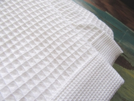 Saunalaken Taubert thalasso 75x200 cm wafelkatoen wit