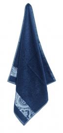 Keukendoek (handdoek) Elias Paisley blauw