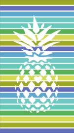 Strandlaken Arkhipelagos Tropical Pineapple kleur multi 100x200 cm