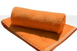 Saunalaken A&R 100x180 cm oranje badstof