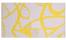 Arkhipelagos velours strandlaken TX190 mustard 100x180 cm