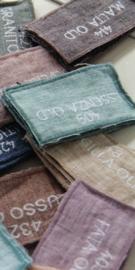 Arte Pura sprei/plaid Lido linnen 270x270 cm diverse kleuren leverbaar