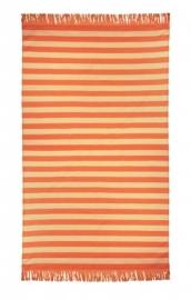 Pareo Arkhipelagos Khayan 100x180 cm oranje tinten