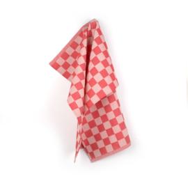 Keukendoek (handdoek) Bunzlau Castle pomp rood