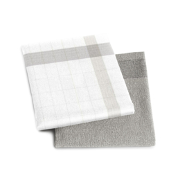 DDDDD organic keukendoek (handdoek) Jura silver