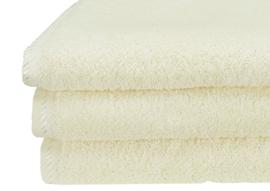 Handdoek A&R 50x100 cm ivory set 3 stuks
