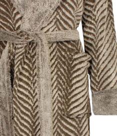 Badjas dames Medaillon coral fleece