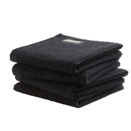 Vaatdoek DDDDD basic clean neutral black