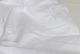 Molton hoeslaken Damai multiform wit, hoekhoogte 30 cm voor een matrashoogte t/m 25 cm