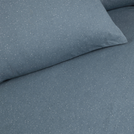 Damai dekbedovertrek Chromite katoen kleur Prussian Blue