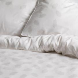 Dekbedovertrek Cinderella Amia katoen satijn kleur white