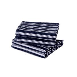Vaatdoek Jorzolino marine blauw/wit gestreept
