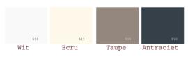 Cevilit Maxima hoeslaken zware kwaliteit jersey met 5% elasthaan hoekhoogte 45 cm voor een dik matras tot 37 cm GRIJS