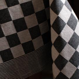 Tafelkleed pompdoek  ruit groen, rood, blauw of zwart DDDDD