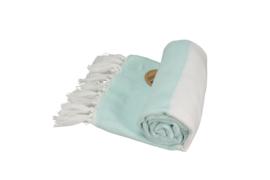 A&R original luxe hamam doek Marmaris 100x180 cm mint/white