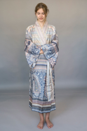 Kimono Bassetti Mocenigo G1 katoenen satijn maat S/M en L/XL