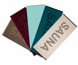 Vossen saunalaken meerdere kleuren beschikbaar