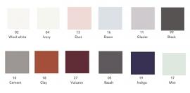 Damai dekbedovertrek uni katoen satijn diverse kleuren leverbaar