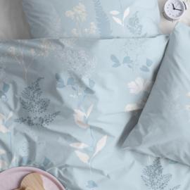 Cinderella dekbedovertrek Florum katoen kleur blue