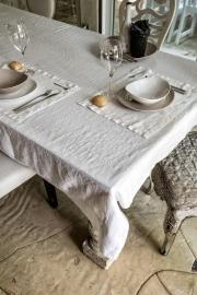 Arte Pura tafelkleed met rand in diverse kleuren en maten beschikbaar vanaf