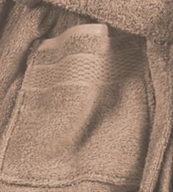 Elias badjas Fresh badstof kleur beige