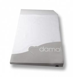 Damai nightkiss topcover molton voor topperhoogte 12 cm met enkele split