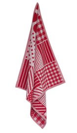 Keukendoek (handdoek) Elias Farmhouse red