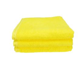 Handdoek A&R 50x100 cm yellow  set 3 stuks