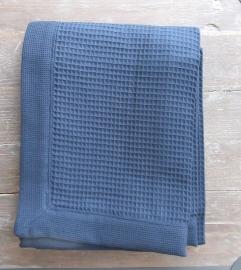 Saunalaken Taubert thalasso 75x200 cm wafelkatoen kleur jeans