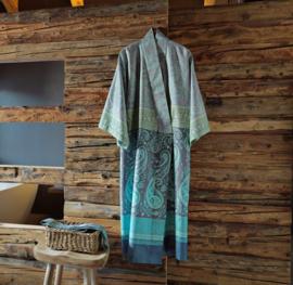 Kimono Bassetti Scauri V7 katoenen satijn maat S/M en L/XL