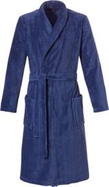 Pastunette for men coral fleece badjas blauw