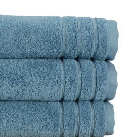 A&R douchelaken organic 70x140 cm kleur blauw