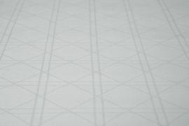 Kayori Shizu dekbedovertrek kleur Zilvergrijs Katoensatijn