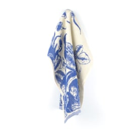 Keukendoek (handdoek) Bunzlau Castle Delfts blue Bird royal