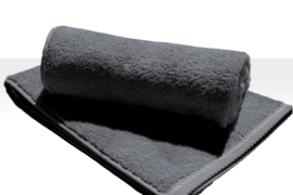 A&R strandlaken badstof 100x210 cm graphite badstof