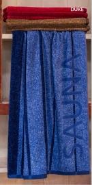 Saunalaken  Duke 90x200 cm blauw of  kastanjebruin  Art 157,131