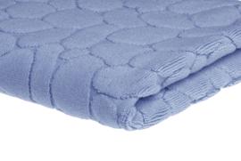 Elias premium badmat 50x70 cm lichtblauw