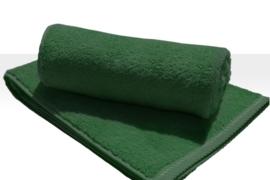 Saunalaken A&R 100x180 cm donkergroen badstof