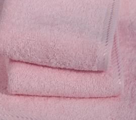 A&R strandlaken badstof 100x210 cm light pink badstof