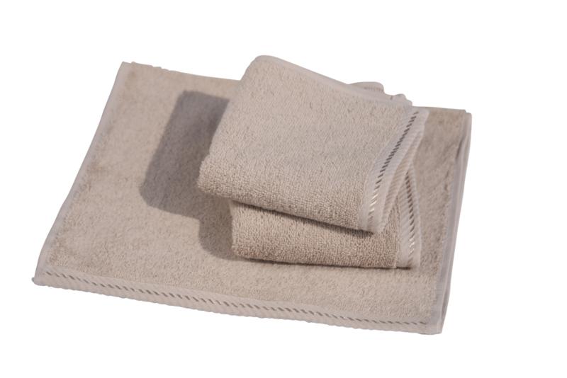 Gastendoekjes A&R 30x50 cm sand set 6 stuks