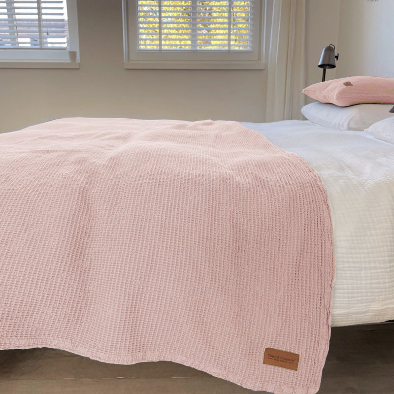 Town & Country sprei Dexter roze