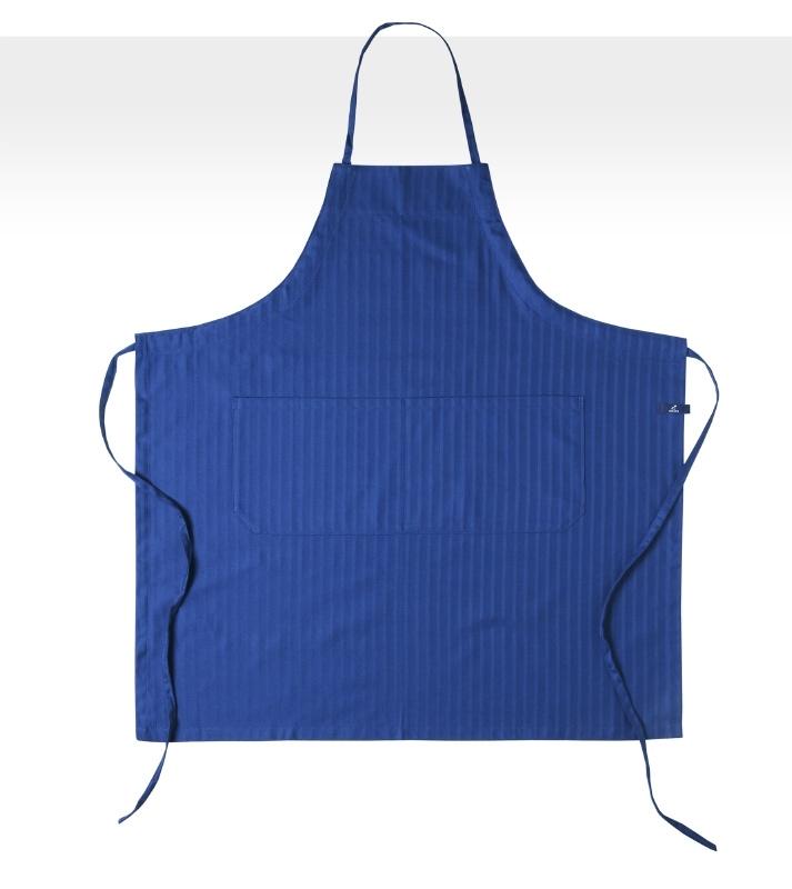 Schort Jorzolino solid blauw