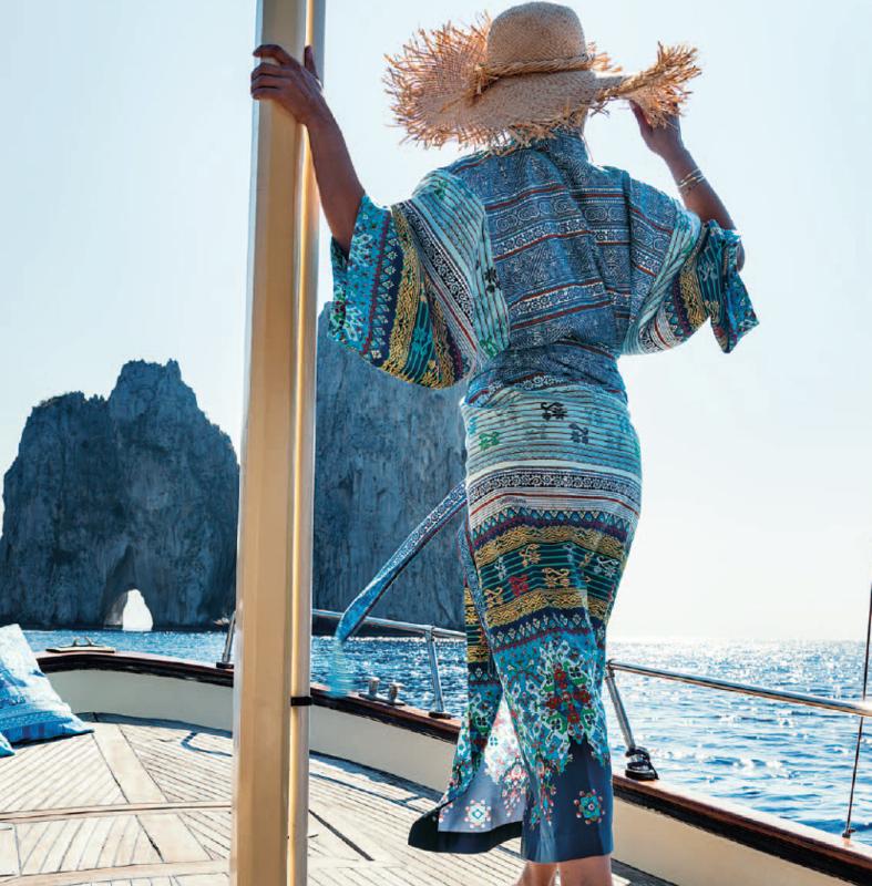 Kimono Bassetti Maiori V3 blue S/M en L/XL