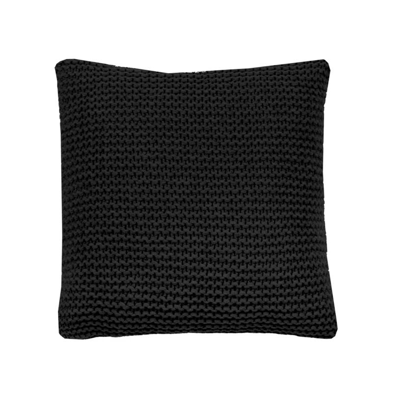 Kussen House in Style Devon kleur black 50x50 cm 80% wol 20% polyester