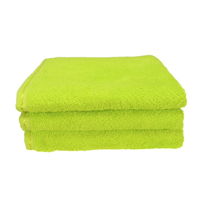 Douchelaken A&R 70x140 cm lime groen