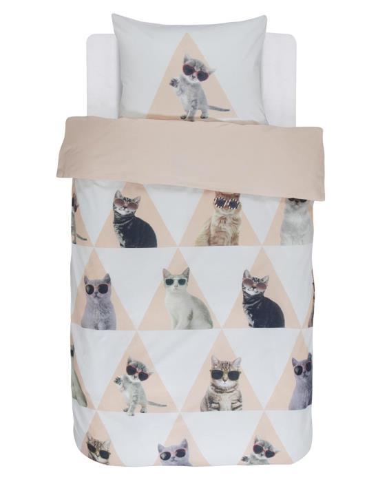 Covers&Co Cool Cats dekbedovertrek 140x220