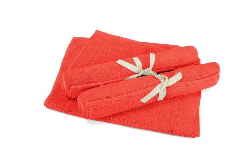 A&R badmat 50x80 cm kleur fire red