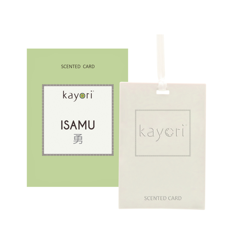 Kayori Scented card Isamu 2 st.