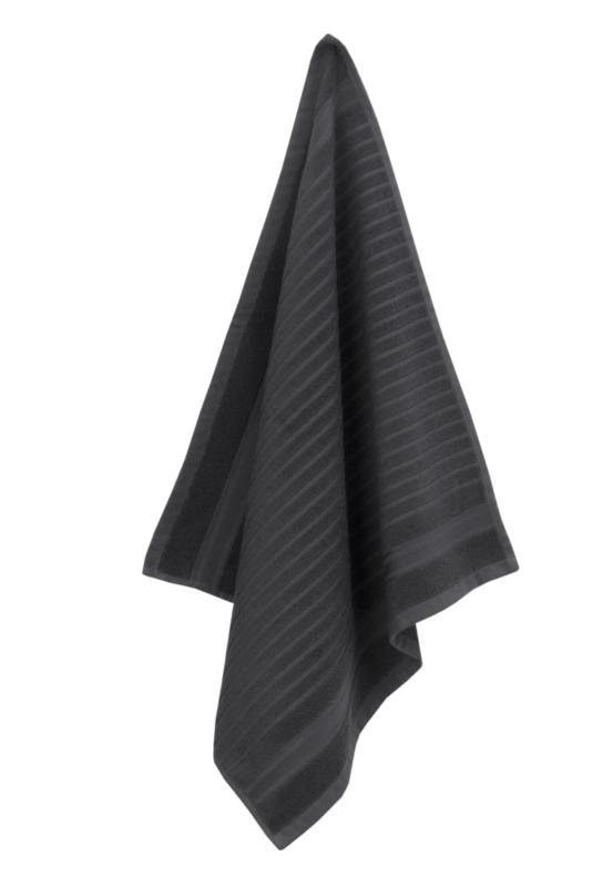 Keukendoek (handdoek) Elias Solid zwart